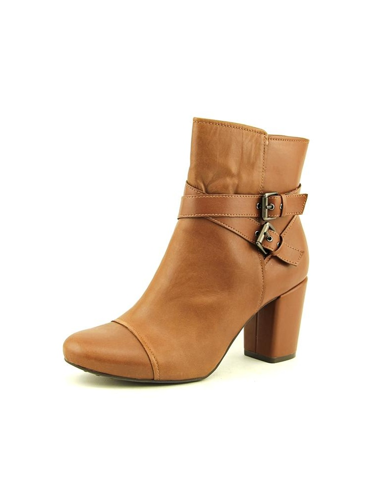 Easy Spirit Patara Round Toe Leather Ankle Boot by Easy Spirit