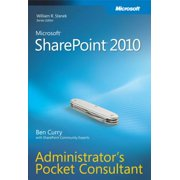 Microsoft SharePoint 2010 Administrator's Pocket Consultant - eBook