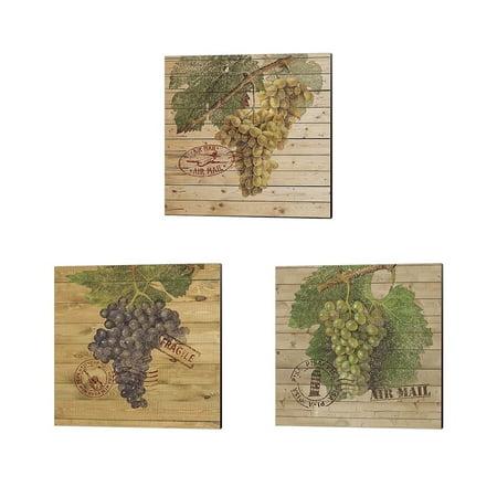 Metaverse Nobleworks Inc. 'Grape Crate' Canvas Art (Set of - Grape Crate