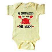 My Grandparents Love Me Gift Infant Creeper