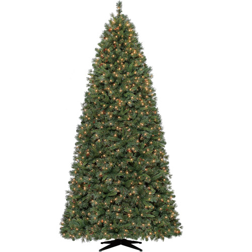 Holiday Time 9ft Lakeview Pine Quick Set Tree-clear - Walmart.com