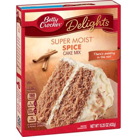 Betty Crocker Super Moist Spice Cake Mix  15 25 Oz