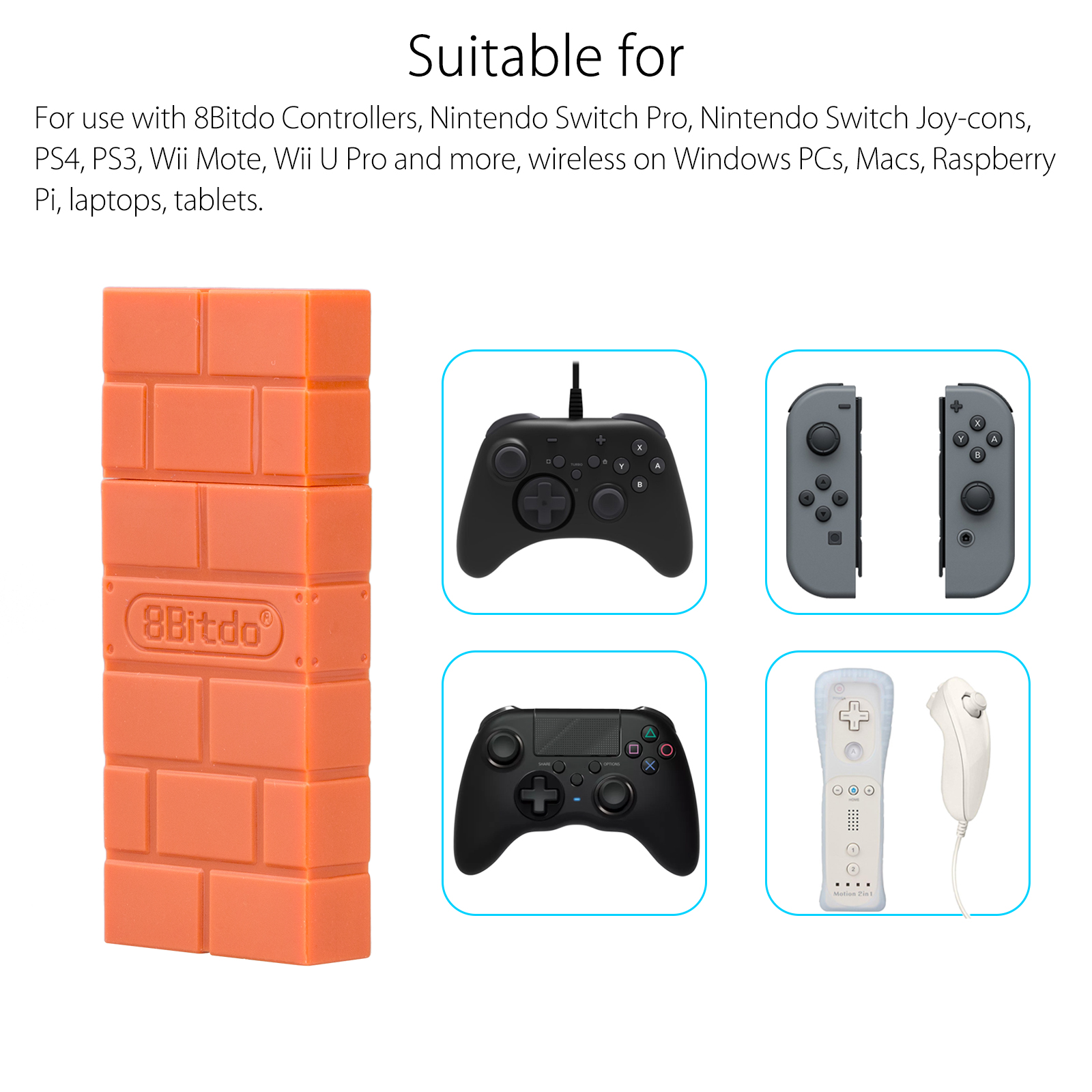 how to pair ps4 controller with 8bitdo