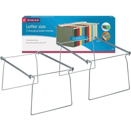Smead Hanging File Folder Frame, Steel, Letter Size, 2/PK (64872)