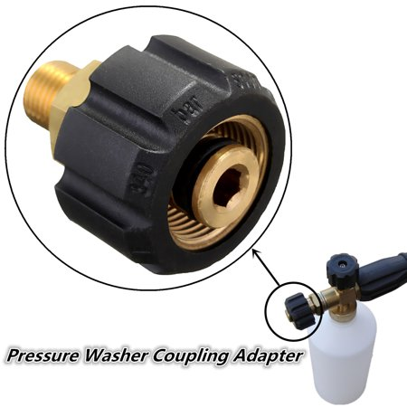 Brass Pressure Washer Coupling Adapter For Karcher HDS -  HALLOLURE