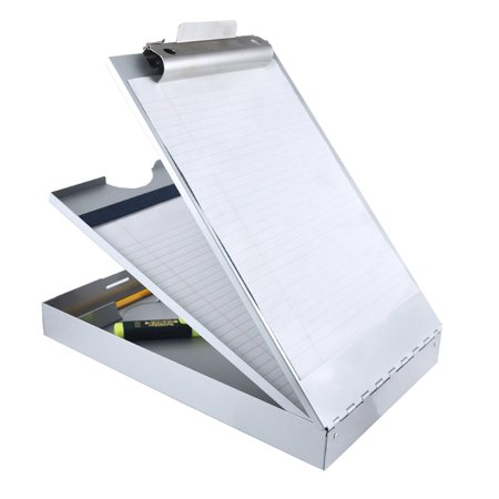 Saunders Recycled Aluminum Cruiser-Mate Storage Clipboard with Dual Tray Stor...
