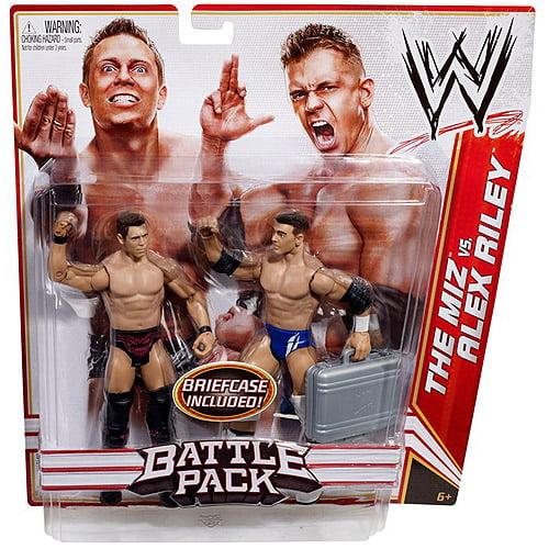 WWE Battle Pack Action Figures, The Miz/Alex Riley