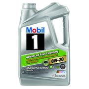 Mobil 1 0w 20 Advanced Fuel Economy Full Synthetic Motor Oil 5 Qt