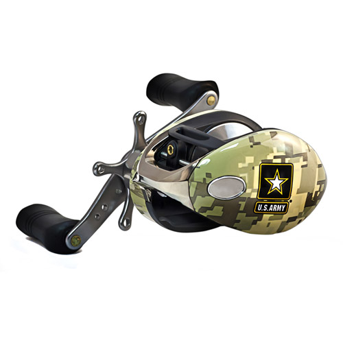 Ardent Military Spinning Combo Kit, 2pc, Army Green, 6', Medium