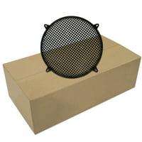 "25 Goldwood Sound SWG-15 Steel Waffle Woofer Grills for 15"" Speakers"