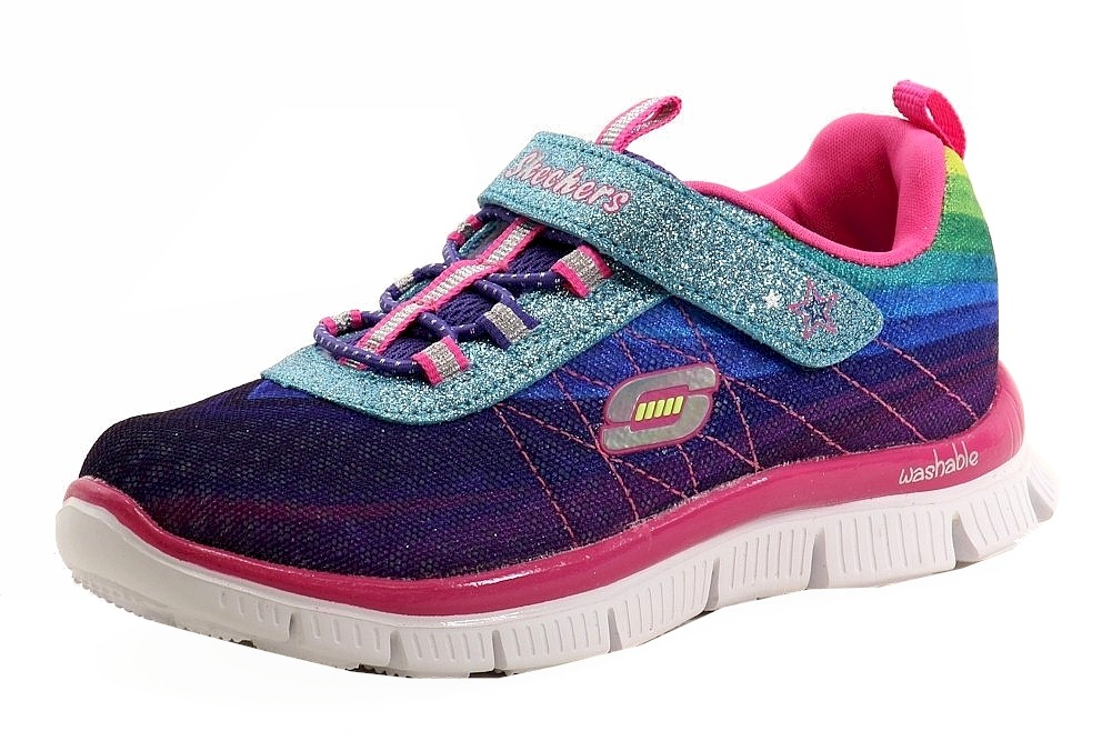 Skechers Toddler Girl's Appeal Perfect Picture Memory Foam Sneakers Shoes Sz: 7T