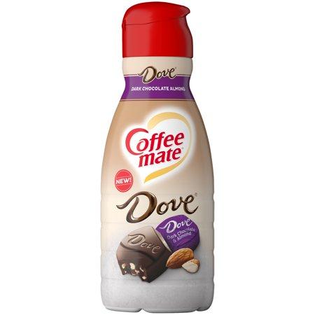 COFFEE MATE DOVE Dark Chocolate Almond Liquid Coffee ...