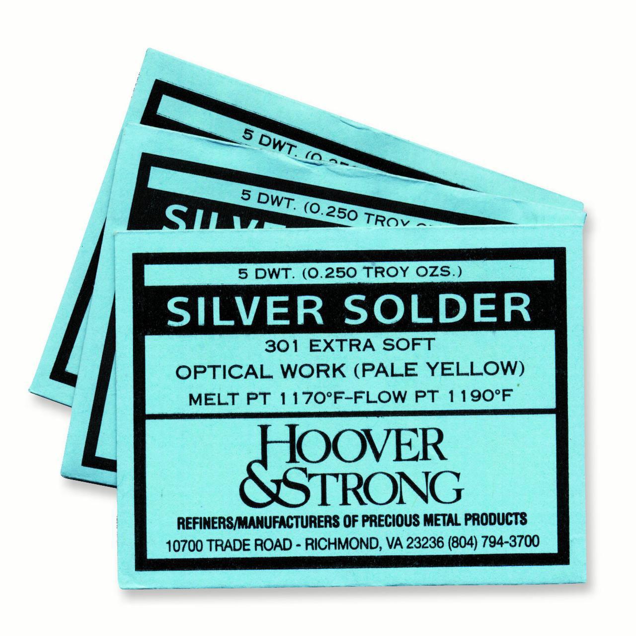 Sterling Silver Hard Solder