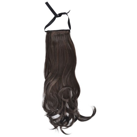 Wavy Wig Ponytail Extension in Soft and Silky Synthetic Fibers
