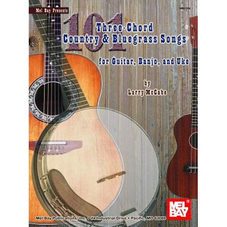101 Three-Chord Songs for Country & Bluegrass Songs for Guitar, Banjo, and Uke](Halloween Songs To Play On Guitar)