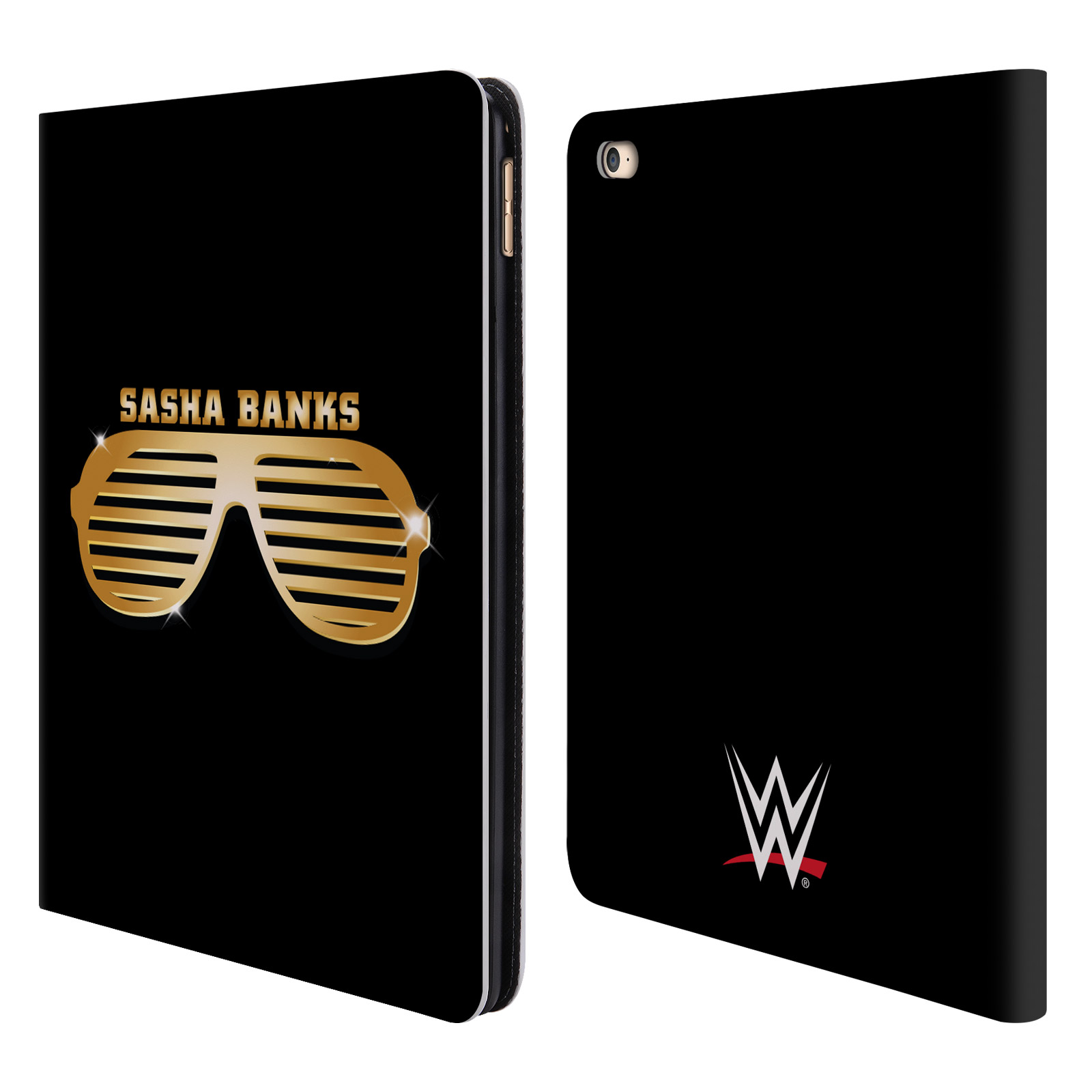 OFFICIAL WWE SASHA BANKS LEATHER BOOK WALLET CASE COVER FOR APPLE IPAD