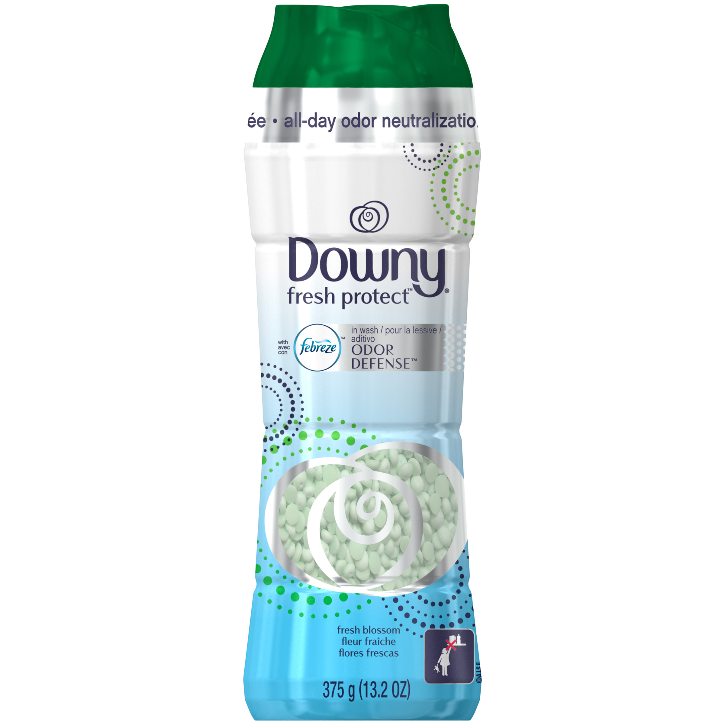Downy® Fresh Protect™ with Febreze™ Odor Defense™ Fresh Blossom In Wash Scent Booster 13.2 oz.