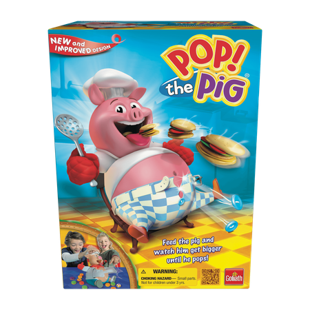 One Game Set (Pop the Pig Game - Family Game by Goliath Games (30546) )