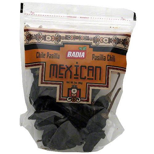 Badia Pasilla Chili Pods, 3 oz (Pack of 12)