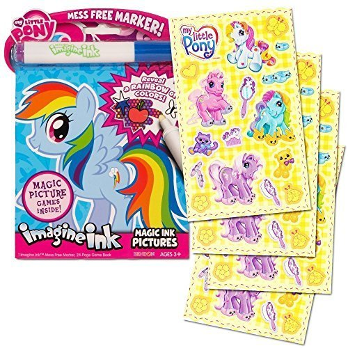 Bendon My Little Pony Imagine Ink Magic Ink Pictures