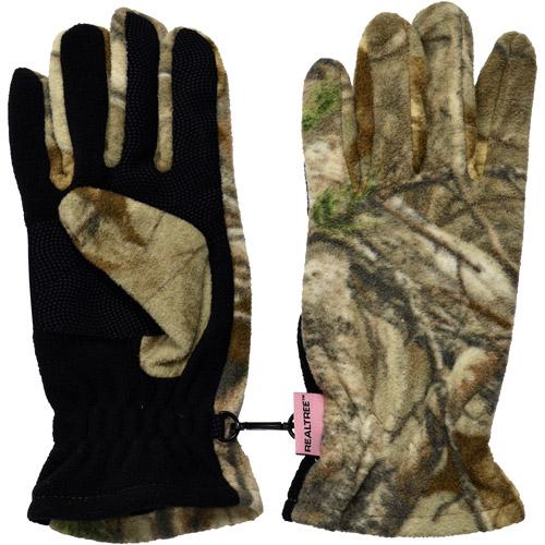 Realtree Women's Fleece Gloves, Realtree Xtra