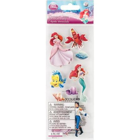 Jolees DTODLM Disney Dimensional Stickers - Little Mermaid