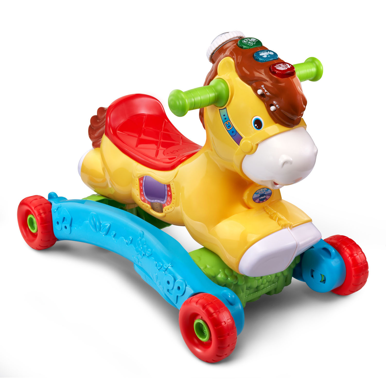 Vtech Gallop And Rock Learning Pony Interactive Ride On Toy Walmart Com Walmart Com