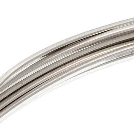 Sterling Silver Wire Half Round Dead Soft 16 Gauge (5 Feet)