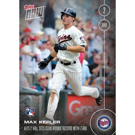 Mlb Minnesota Twins Max Kepler Rc 203 2016 Topps Now Trading Card