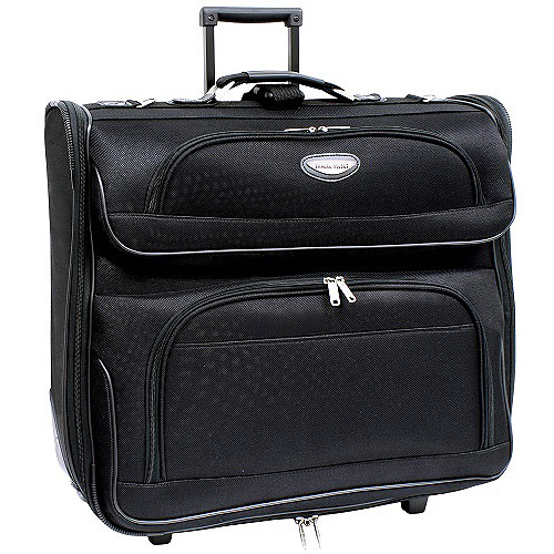 Travel Select Rolling Garment Bag, Black
