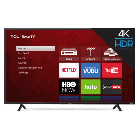 Refurbished Tcl 65 Quot Class 4k 2160p Roku Smart Led Tv