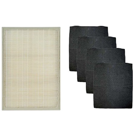 Whirlpool 1183051K (1183051) HEPA Filter with 4 Pre-Carbon Filters Fits Whispure Air Purifier Models AP25030K, APR25530L, APR25130L, and AP150; Replaces Part # 1183051