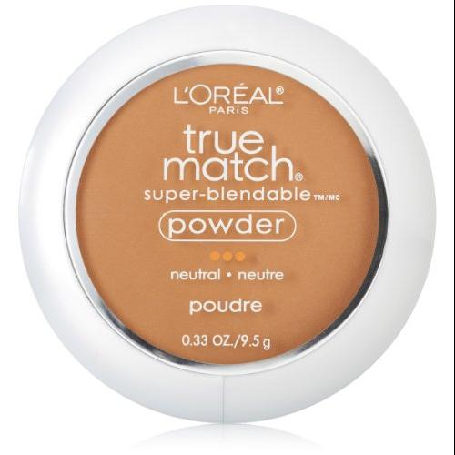 L'oreal Paris True Match Super-blendable Powder, Classic Tan, 0.33 Oz, 2 Ea