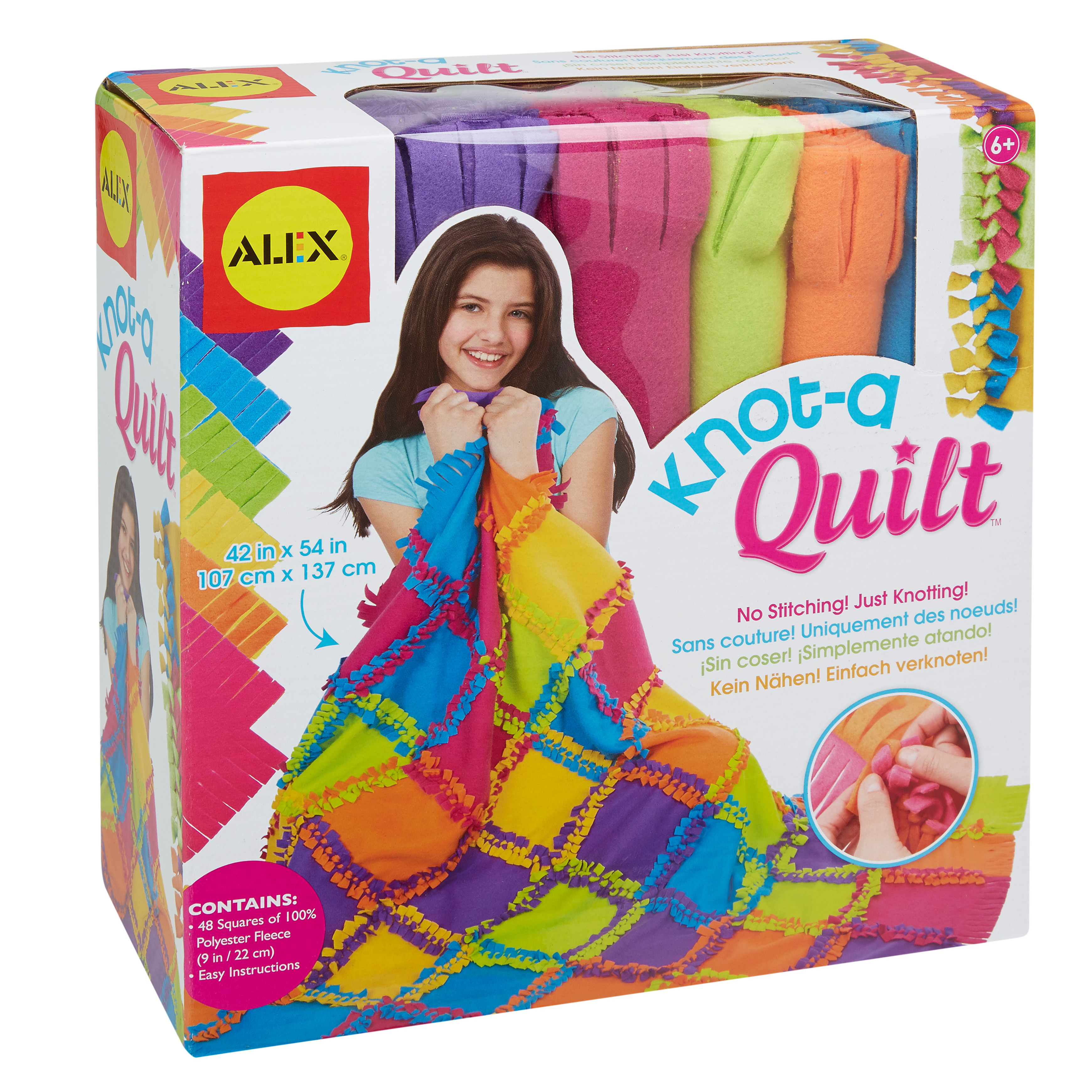 ALEX Toys Craft Knot A Quilt Kit