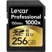 Lexar 256GB Professional 1000x UHS-II U3 SDXC Memory Card