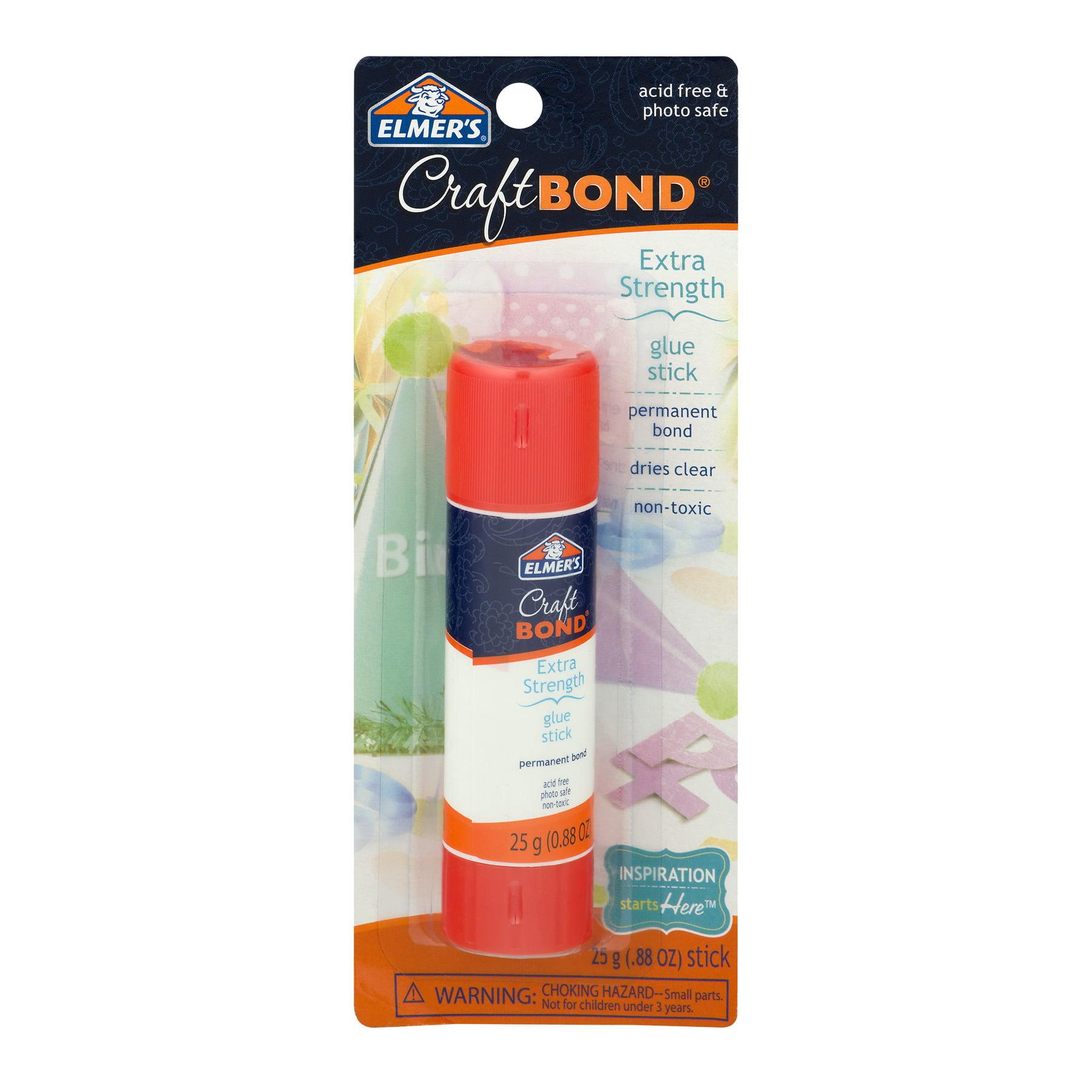 Elmer's Craft Bond Extra Strength Glue Stick, 0.88 OZ