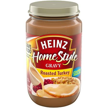 Drip Gravy ((2 Pack) Heinz Home-Style Roasted Turkey Gravy, 12 oz Jar )