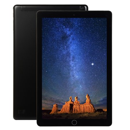 10.1 Inch Android 8.0 Ten-Core Tablet PC 64GB WIFI Bluetooth HD Touch Screen black US