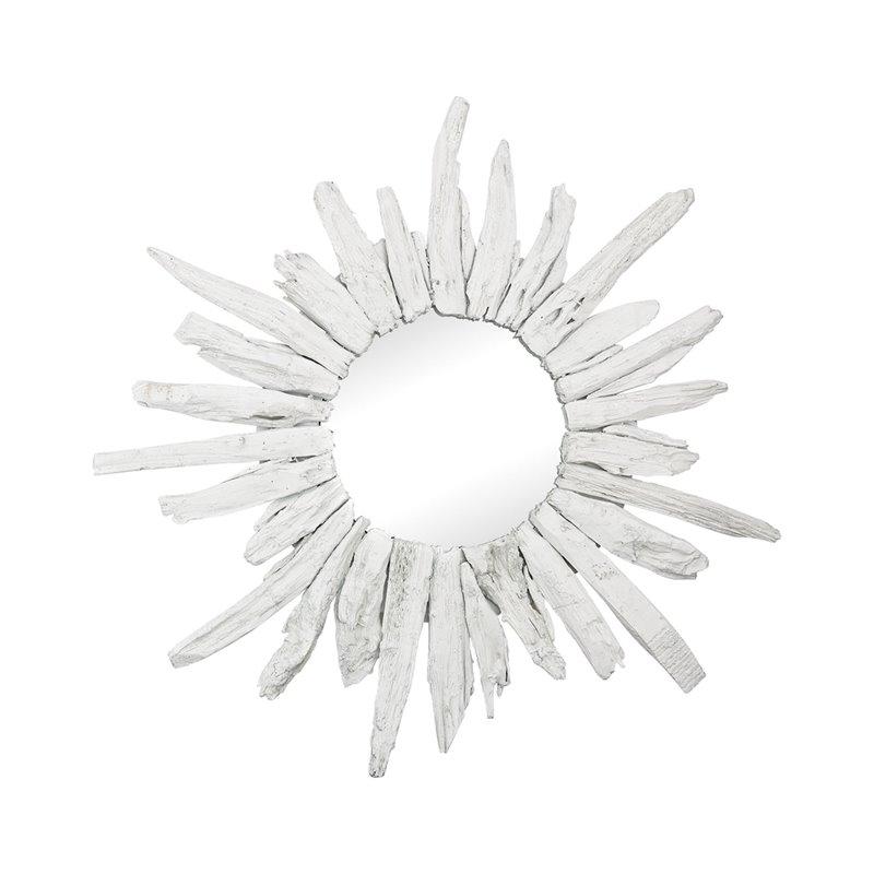 Dimond Home Chinook Decorative Mirror in White - image 1 de 1