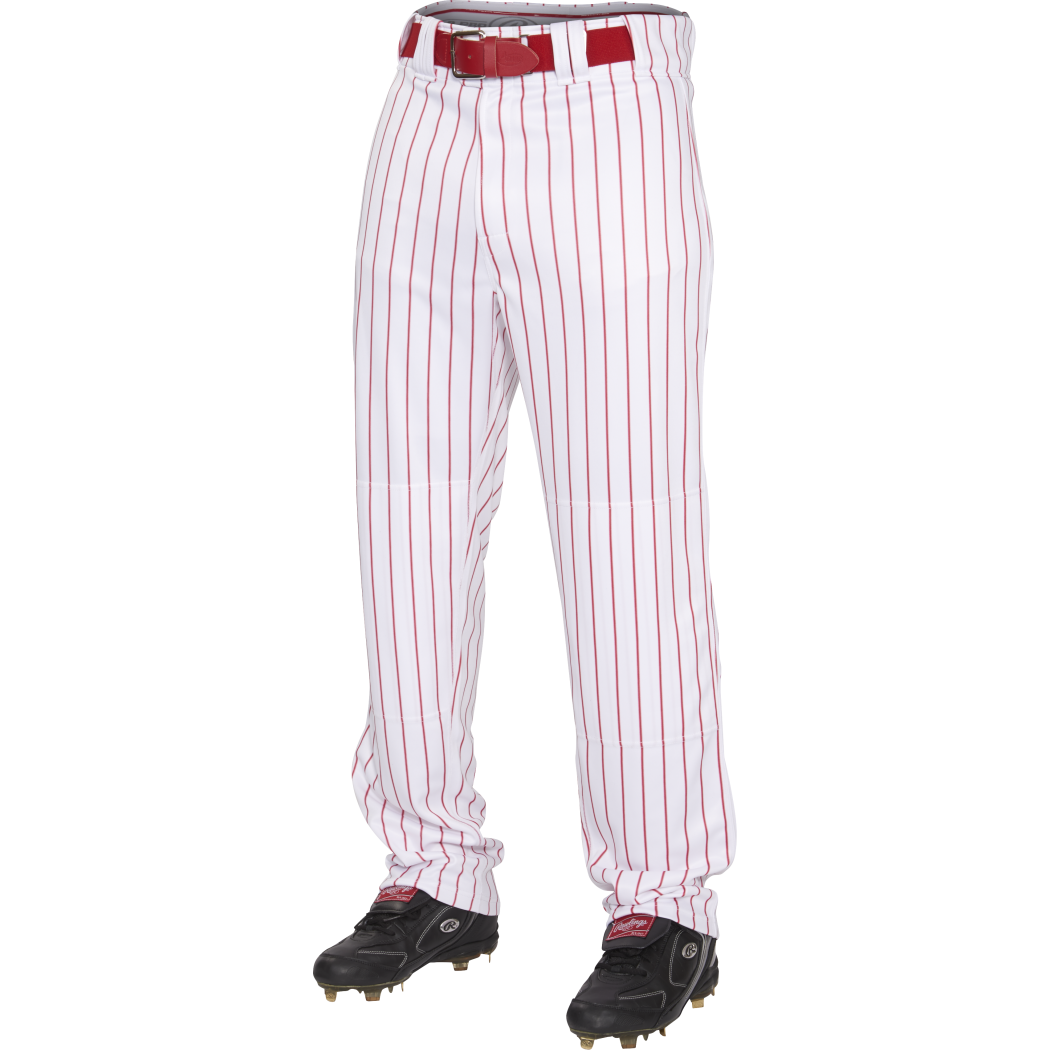 Rawlings Launch Adult Solid Baseball Pant, White, Size XL by Rawlings