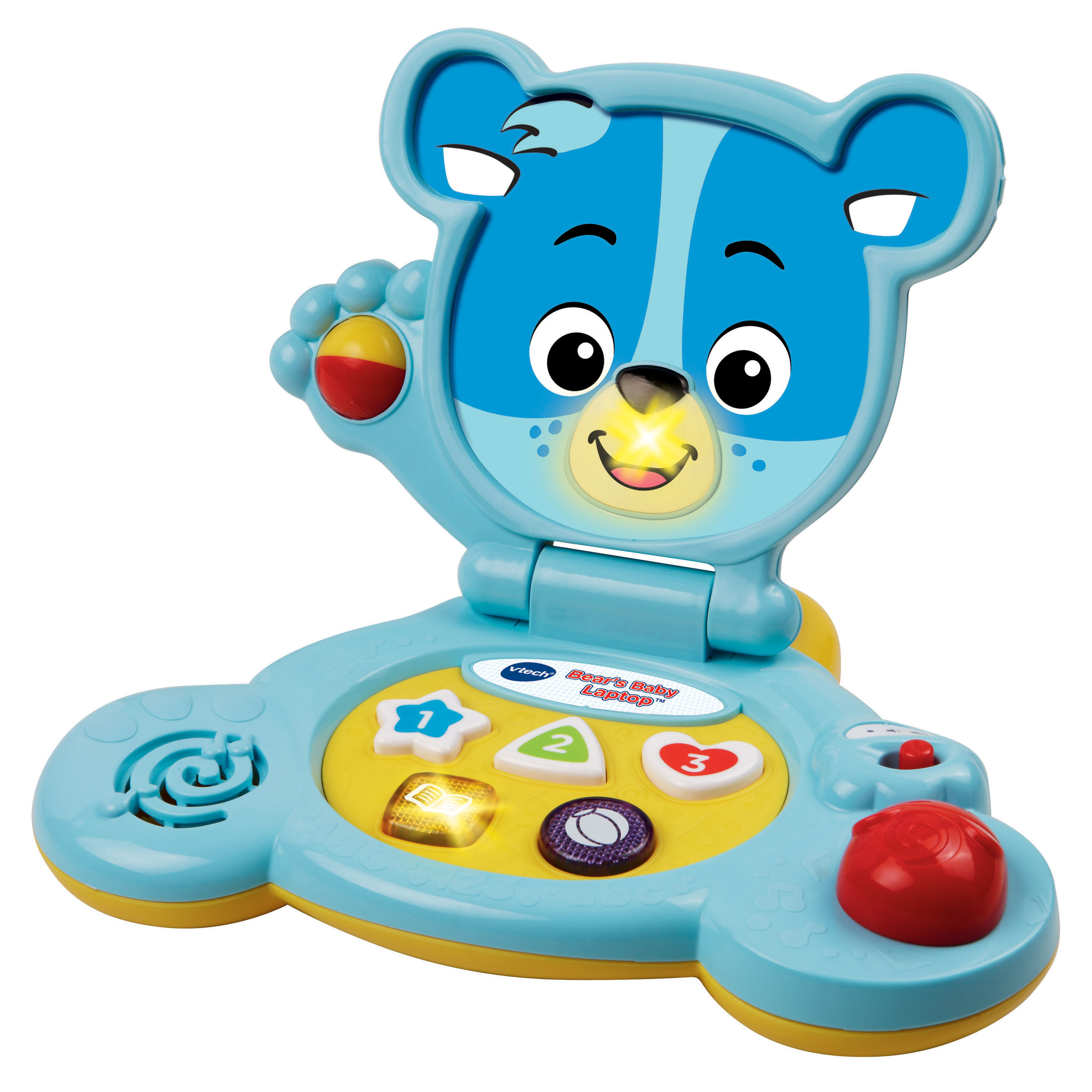 Handheld coloring games for toddlers - Bear S Baby Laptop