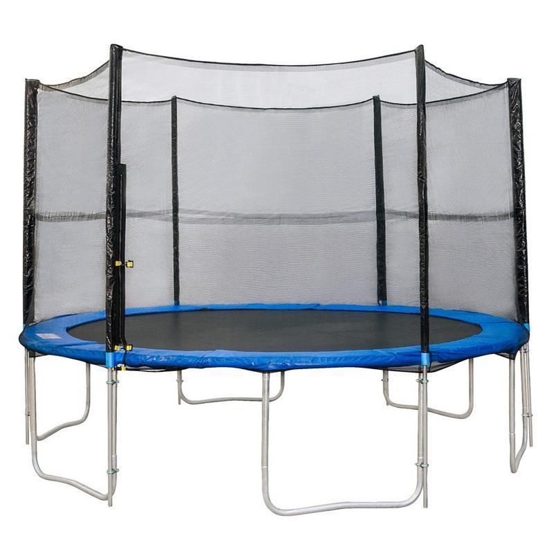12 6 Poles Outdoor Trampoline Net Replacement Net For
