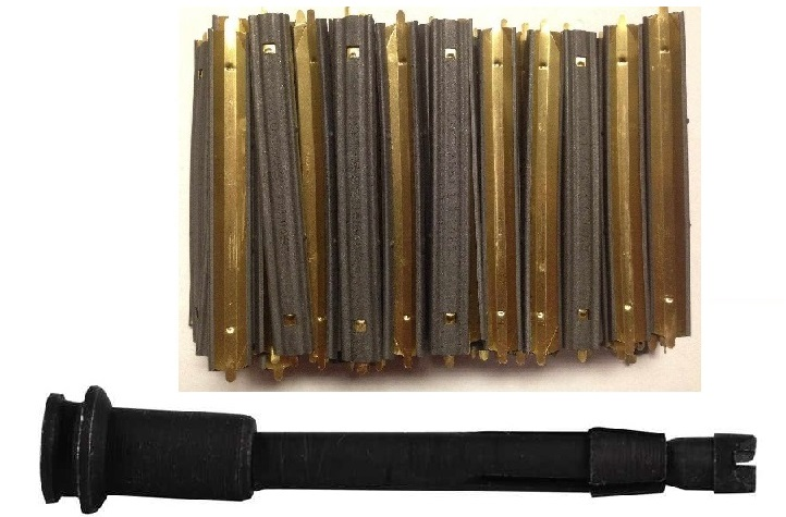 Ultimate Arms Gear USGI 200 Pack of .223 5.56mm 10 Round Military Mil-Spec Reusable Easy Reload Stripper Clips + Broken... by