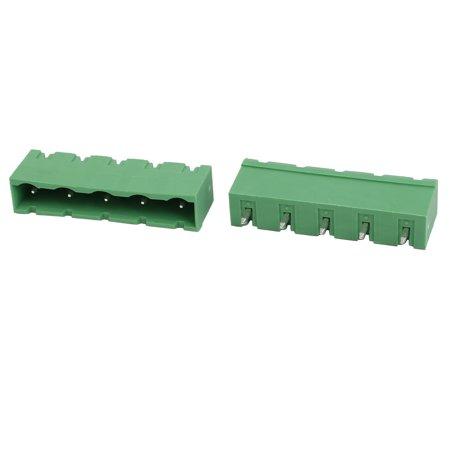 25 Pcs LZ1V 7.62mm Pitch 5P PCB Montage du connecteur du bornier - image 1 de 2