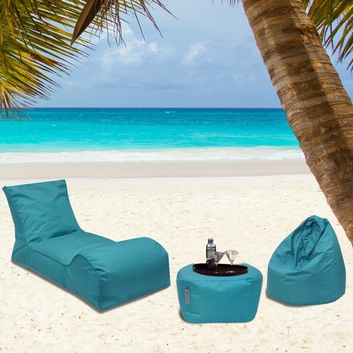 Modern Bean Bag Summer Days 3 Piece Bean Bag Set