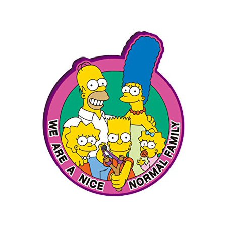 Magnet - The Simpsons - The Family Soft PVC Licensed New Toys 27853