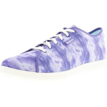 da843e41b9a Reebok Women s Skyscape Runaround Purple   Chalk Fabric Fashion ...