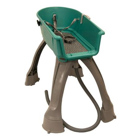 Booster Bath Durable and Lightweight Dog Bath w/Adjustable Fan Nozzle - Medium (Pet Bats)