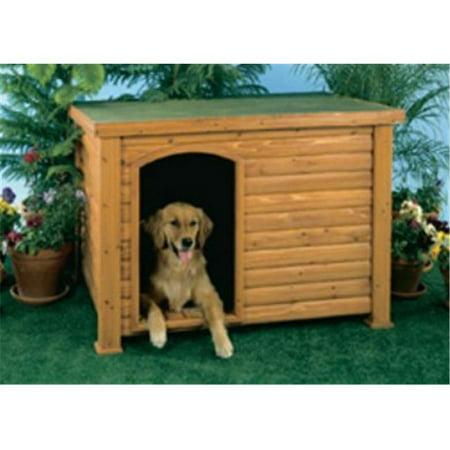 Precision outback log cabin dog house walmartcom for Outback log cabin dog house