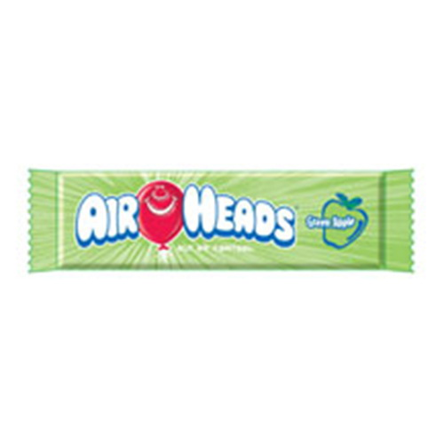Airheads Green Apple Taffy Candy 36 Ea by Air Heads Candy